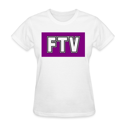 Purple FTV Logo Design - Women's T-Shirt
