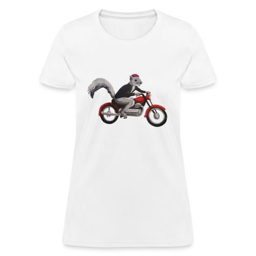 Speedbike Squirrel - Women's T-Shirt