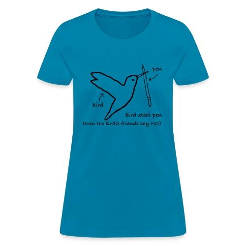 Very Rebellious Birdie - Women's T-Shirt