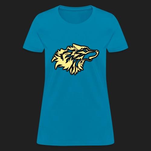 wolfepacklogobeige png - Women's T-Shirt