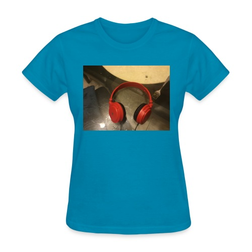 The amazing headphone - Women's T-Shirt