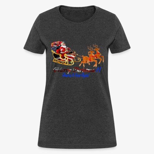 Merry Christmas-America - Women's T-Shirt
