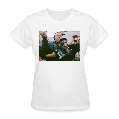 Say NO to Alex Jones Censorship - Women's T-Shirt