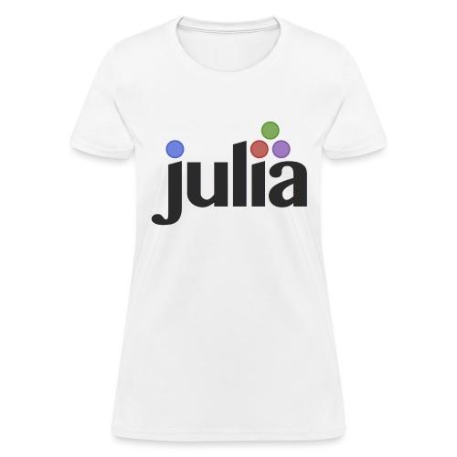 Official Julia Logo - Women's T-Shirt