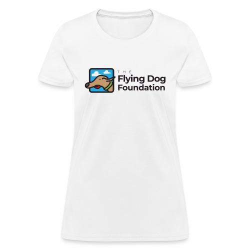 Flying Dog Black Font - Women's T-Shirt