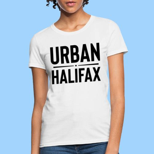 Urban Halifax logo (Black) - Women's T-Shirt
