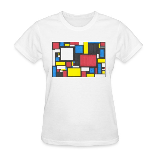 Geometric Pattern 2 - Women's T-Shirt