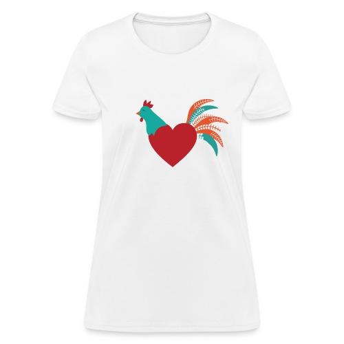 Chicken Heart - Women's T-Shirt