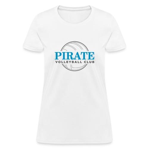 Pirate Volleyball Club Logo - Women's T-Shirt