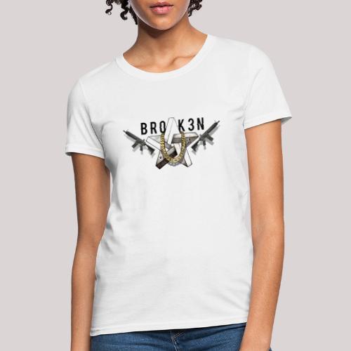 Br0k3n - Women's T-Shirt