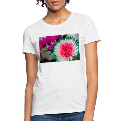 Flowery Words! - Women's T-Shirt