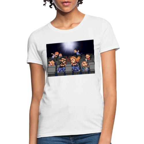 A Night at the Movies - Women's T-Shirt