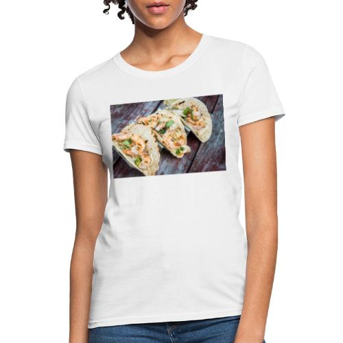 Grilled Shrimp Tacos - Women's T-Shirt