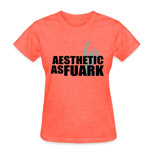 Zyzz Aesthetic as FUARK - Women's T-Shirt