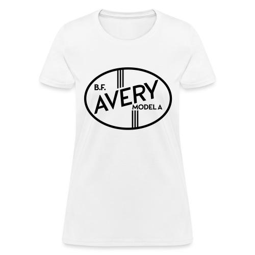 B.F. Avery Model A emblem - Autonaut.com - Women's T-Shirt