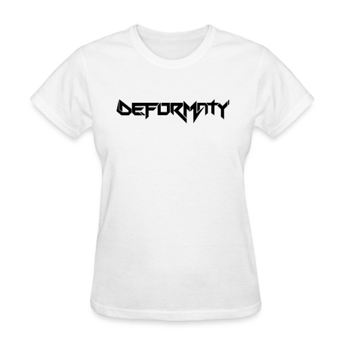 Deformaty Logo Black - Women's T-Shirt