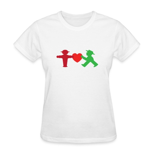 ampelmannchen love - Women's T-Shirt