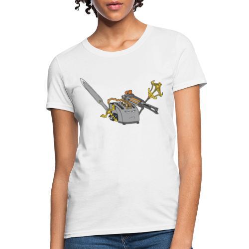 Super Toaster Flat - Women's T-Shirt