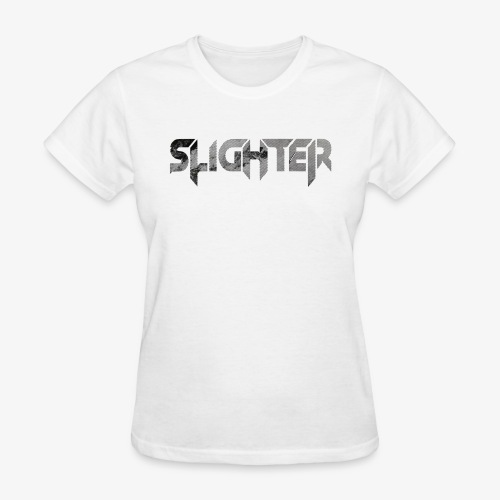 Slighter Line Glitch Logo - Women's T-Shirt