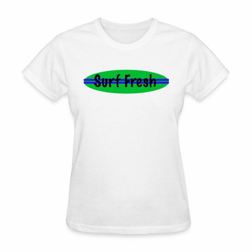 surf fresh - Women's T-Shirt