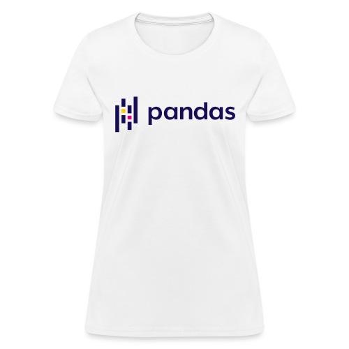 Pandas Logo for Spreadshirt - Women's T-Shirt