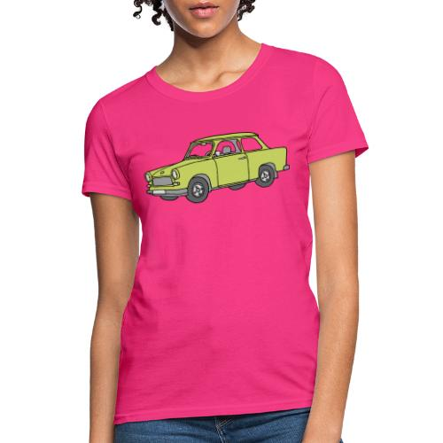 Trabant (baligreen car) - Women's T-Shirt
