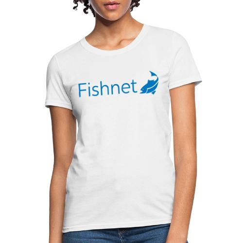 Fishnet (Blue) - Women's T-Shirt