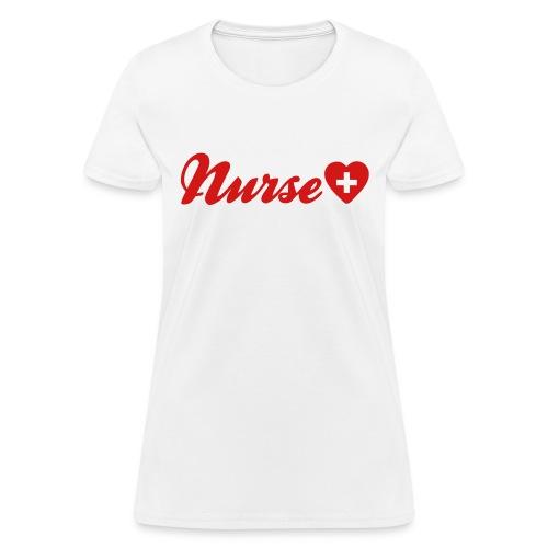 Nurse Heart - Women's T-Shirt