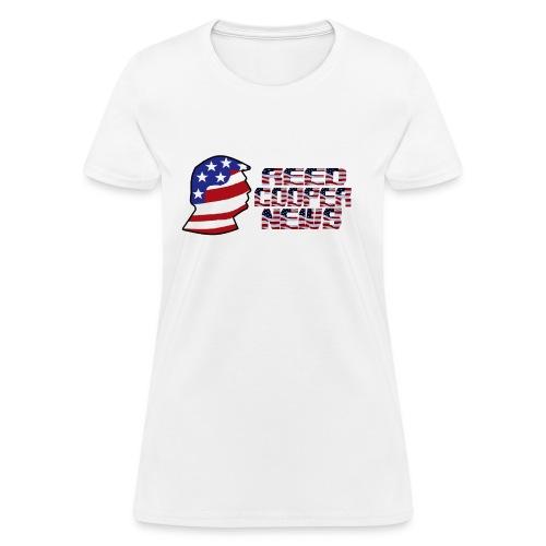Reed Cooper News Logo & Words - Women's T-Shirt