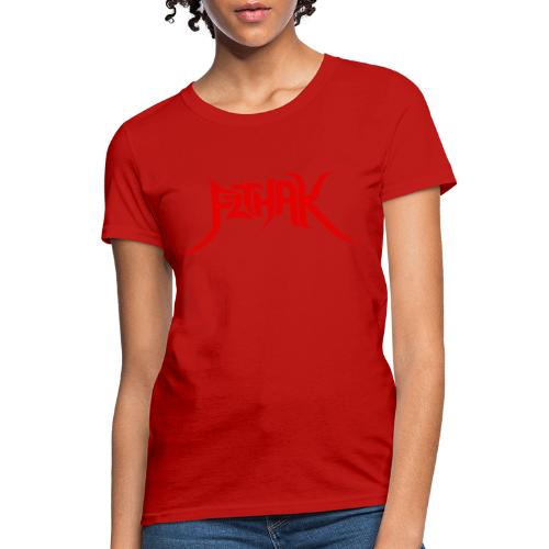 Tribal Logo (Red) - Women's T-Shirt
