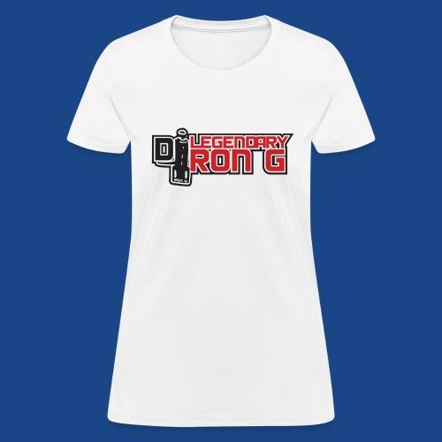 Ron G logo - Women's T-Shirt
