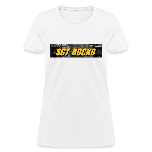 RockoWear Banner - Women's T-Shirt