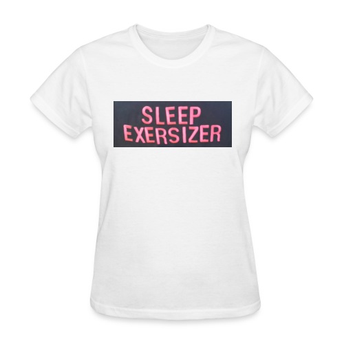 Sleep Exersizer Words - Women's T-Shirt