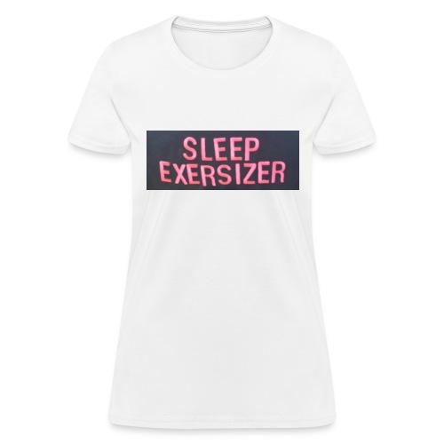 Sleep Exersizer Words - Women's T-Shirt