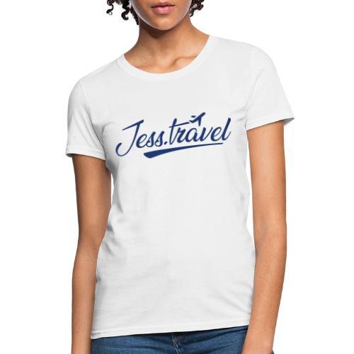 Jess Travel Logo LARGE Reverse - Women's T-Shirt