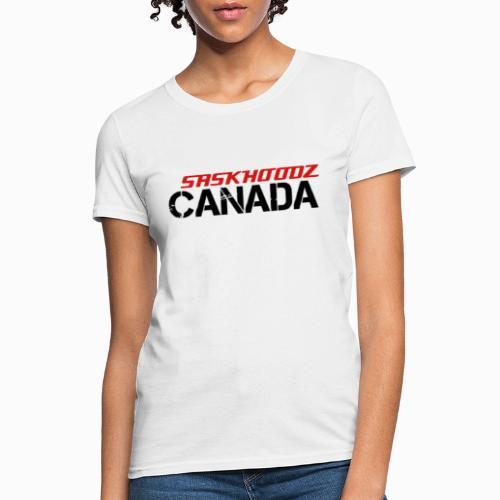 saskhoodz canada - Women's T-Shirt