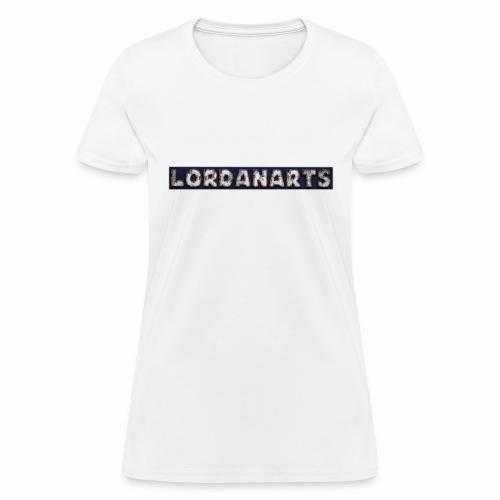 LordanArts Channel Logo - Women's T-Shirt