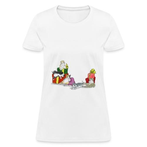 cutie cutie cats - Women's T-Shirt