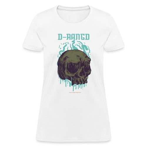 D-RaNGD Melting Skull Logo - Women's T-Shirt