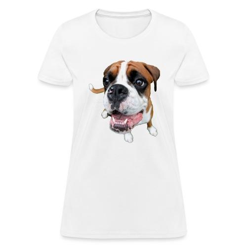 Boxer Rex the dog - Women's T-Shirt