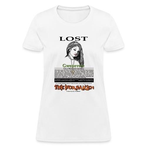 lostgwen png - Women's T-Shirt
