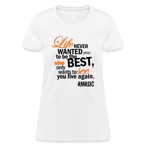 best - Women's T-Shirt