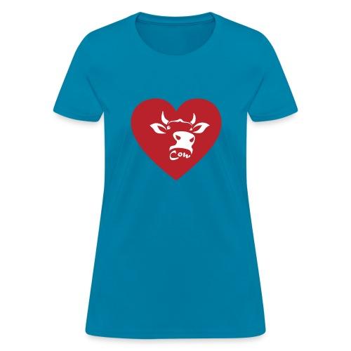 Cow Heart - Women's T-Shirt