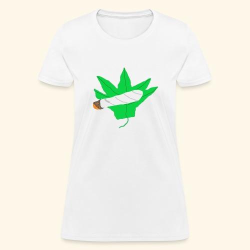Spliffen' Leaf - Women's T-Shirt