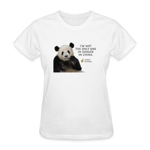 Endangered Pandas - Women's T-Shirt