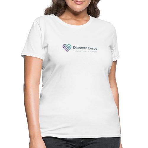 DiscoverCorp Logo Horizontal High 4 1 - Women's T-Shirt
