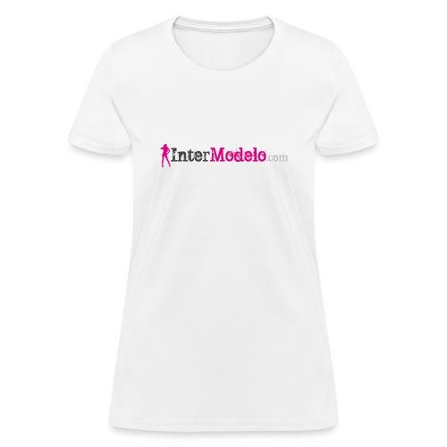 Intermodelo Color Logo - Women's T-Shirt