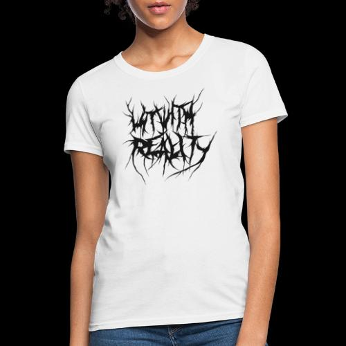 Hit With Reality Logo - Women's T-Shirt