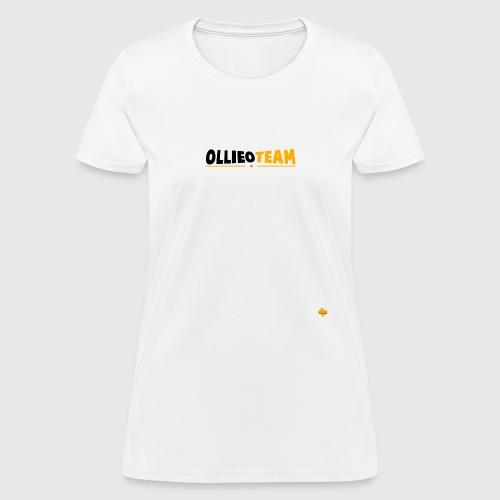 OllieO Logo Merch png - Women's T-Shirt