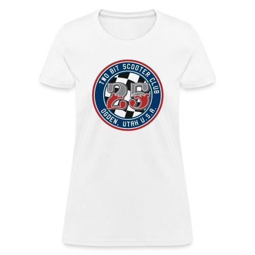 Two Bit Scooter Club Logo - Women's T-Shirt